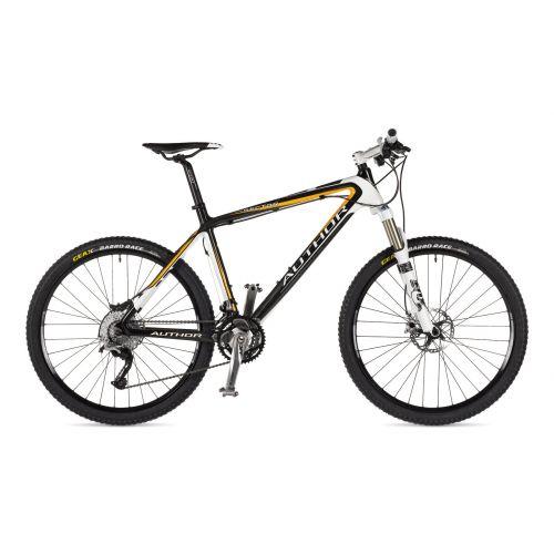 """Велосипед AUTHOR  Sector 26"""", цвет-карбон/оранжевый/белый , рама 19"""""""