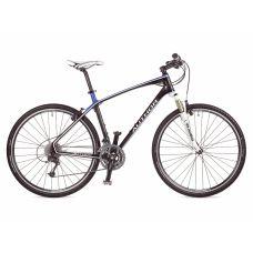 "Велосипед AUTHOR  Avion 28"", цвет-карбон/синий , рама 18"""