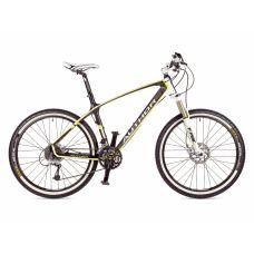 """Велосипед AUTHOR  Modus 26"""", цвет-карбон/желтый/белый , рама 19"""""""