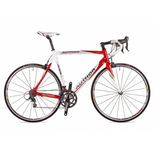 """Велосипед AUTHOR  A 55  28"""", цвет-бело/красный, рама 56 см"""