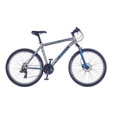 """Велосипед AUTHOR (2016) Outset Disc 26"""", цвет-серый (синий) // синий , рама 21"""""""