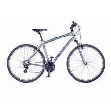 "Велосипед AUTHOR (2016) Horizon  28"", цвет-серебристый (голубой) // серебристый, рама 18"""