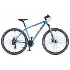 """Велосипед AUTHOR (2018) Rival 29"""", рама 17"""", цвет-синий (оранжево черный) // синий"""