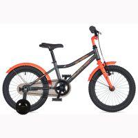 """Велосипед AUTHOR (2020) Orbit II 16"""", рама 9"""", цвет-серый // оранжевый"""