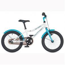 """Велосипед AUTHOR (2020) Orbit 16"""", рама 9"""", цвет-белый // голубой"""