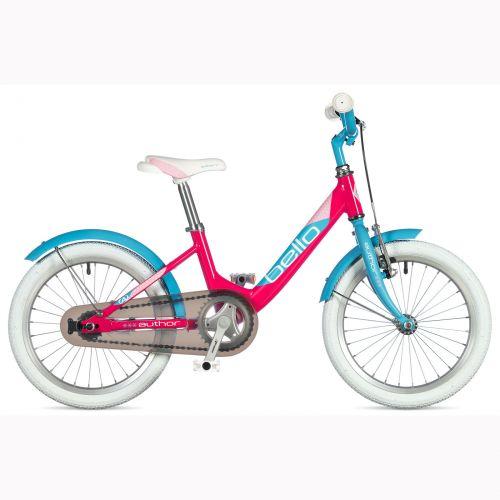 "Велосипед AUTHOR (2020) Bello 16"", рама 9"", цвет-розовый // голубой"