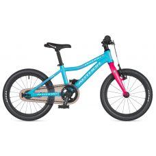"""Велосипед AUTHOR (2020) Record 16"""", рама 9"""", цвет-голубой // розовый"""