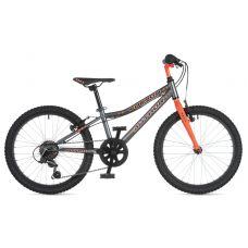 """Велосипед AUTHOR (2020) Energy 20"""", рама 10"""", цвет-серый // оранжевый"""