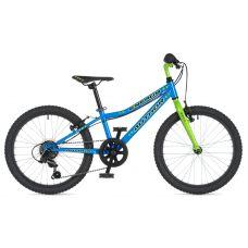 """Велосипед AUTHOR (2020) Energy 20"""", рама 10"""", цвет-голубой // салатовый"""