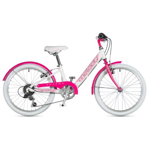 "Велосипед AUTHOR (2020) Melody 20"", рама 10"", цвет-цвет-белый // розовый"