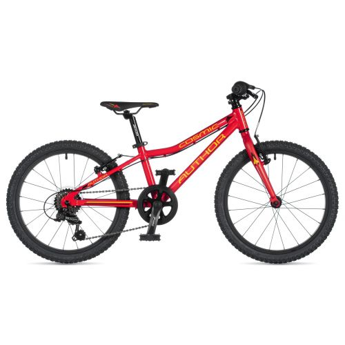"""Велосипед AUTHOR (2020) Cosmic 20"""", рама 10"""", цвет-красный"""