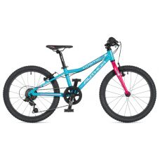 """Велосипед AUTHOR (2020) Cosmic 20"""", рама 10"""", цвет-голубой // розовый"""