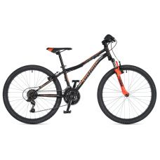"""Велосипед AUTHOR (2020) Matrix 24"""", рама 12,5"""", цвет-чёрный // оранжевый"""
