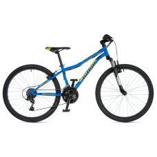 """Велосипед AUTHOR (2020) Matrix 24"""", рама 12,5"""", цвет-голубой // черный"""