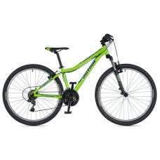 """Велосипед AUTHOR (2020) A-Matrix 26"""", рама 13,5"""", цвет-зелёный // чёрный"""