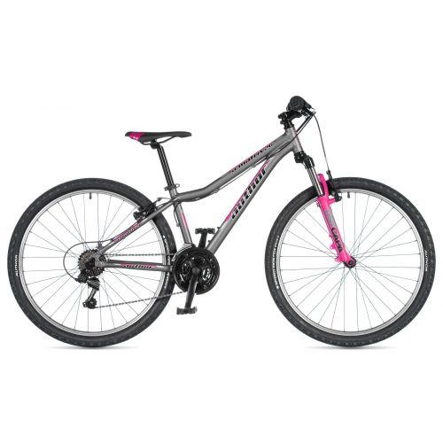 """Велосипед AUTHOR (2020) A-Matrix 26"""", рама 13,5"""", цвет-серый (розовый) // розовый"""
