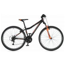 """Велосипед AUTHOR (2020) A-Matrix 26"""", рама 13,5"""", цвет-чёрный (неоново оранжевый)// неоново оранжевый"""