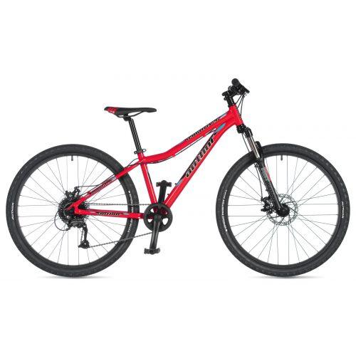 """Велосипед AUTHOR (2020) A-Matrix 26"""" D, рама 13,5"""", цвет-красный (голубой) // черный"""