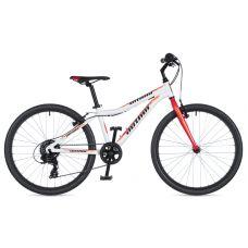 """Велосипед AUTHOR (2020) Ultima 24"""", рама 12,5"""", цвет-белый // красный"""