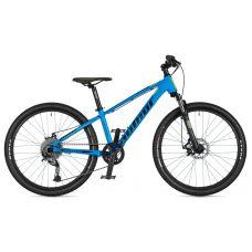 """Велосипед AUTHOR (2020) Mirage 24"""", рама 12,5"""", цвет-голубой // черный"""