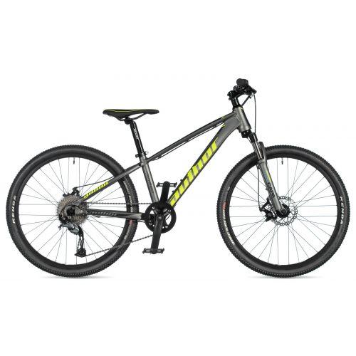 """Велосипед AUTHOR (2020) Mirage 24"""", рама 12,5"""", цвет-серебристый // черный"""