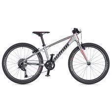 """Велосипед AUTHOR (2020) Ultrasonic 24"""", рама 12,5"""", цвет-серебристый"""