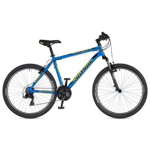 """Велосипед AUTHOR (2020) Outset 26"""", рама 15"""", цвет-синий // черный"""