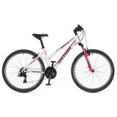 """Велосипед AUTHOR (2020) Unica 26"""",  рама 16"""", цвет-серебристый (лиловый)  // серебристый"""