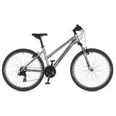 """Велосипед AUTHOR (2020) Unica 26"""",  рама 18"""", цвет-серебристый (лиловый)  // серебристый"""
