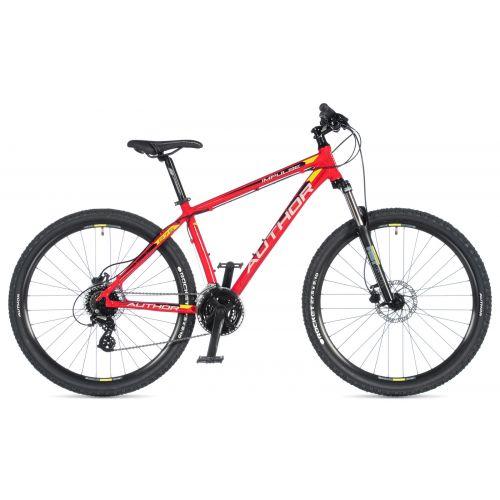 """Велосипед AUTHOR (2020) Impulse 27.5"""", рама 17"""", цвет-красный // черный"""