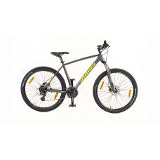 """Велосипед AUTHOR (2020) Impulse II 27.5"""", рама 19"""", цвет-серый (лимонный) // серый"""
