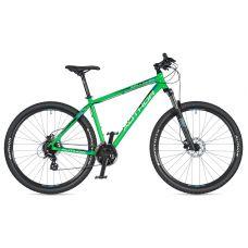 """Велосипед AUTHOR (2020) Impulse 29"""", рама 17"""", цвет-зелёный // черный"""