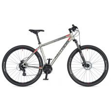 """Велосипед AUTHOR (2020) Impulse 29"""", рама 17"""", цвет-серебристый // черный"""