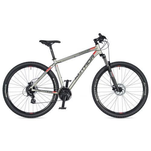 """Велосипед AUTHOR (2020) Impulse 29"""", рама 21"""", цвет-серебристый // черный"""