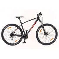 """Велосипед AUTHOR (2020) Impulse II 29"""", рама 21"""", цвет-черный (красный) // черный"""