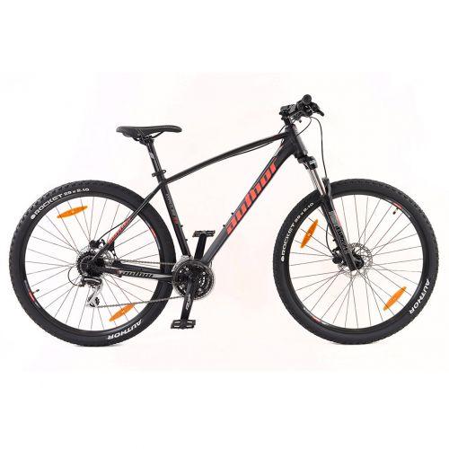 """Велосипед AUTHOR (2020) Impulse II 29"""", рама 19"""", цвет-черный (красный) // черный"""
