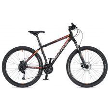 """Велосипед AUTHOR (2020) Solution 27.5"""", рама 19"""", цвет-черный (красный) // чёрный"""