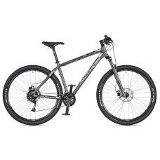 """Велосипед AUTHOR (2020) Solution 29"""", рама 21"""", цвет-серебристый (желтый-салатовый) // черный"""