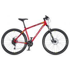 """Велосипед AUTHOR (2020) Solution 29"""", рама 19"""", цвет-черный (красный/желтый) // чёрный"""