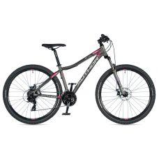 """Велосипед AUTHOR (2020) Rival ASL 27.5"""",  рама 14"""", цвет-серый (розовый) // серый"""