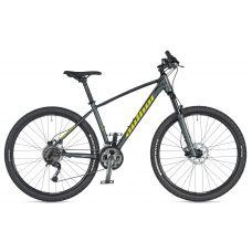 "Велосипед AUTHOR (2020) Spirit 27.5"", рама 15"", цвет-серый (лимонный) // серый"