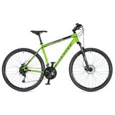 """Велосипед AUTHOR (2020) Vertigo 29"""", рама 22"""", цвет-зелёный (чёрный) // чёрный"""