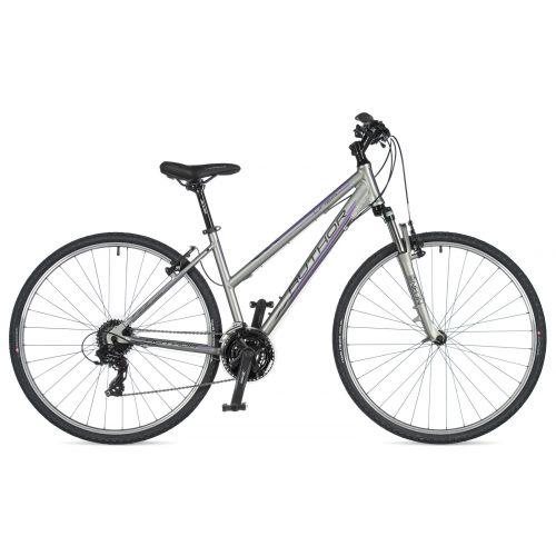 """Велосипед AUTHOR (2020) Linea 28"""", рама 17"""", цвет-серый (фиолетовый) // серый"""