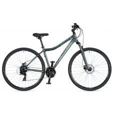 "Велосипед AUTHOR (2020) Horizon ASL 29"", рама 17"", цвет-серый (ментоловый) // серый"