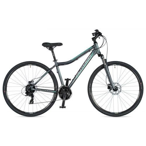"Велосипед AUTHOR (2020) Horizon ASL 29"", рама 19"", цвет-серый (ментоловый) // серый"