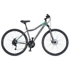 """Велосипед AUTHOR (2020) Vertigo ASL 29"""", рама 19"""", цвет-серый (ментоловый) // серый"""