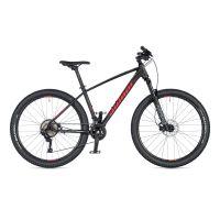 """Велосипед AUTHOR (2020) Traction 27.5"""", рама 17"""", цвет-чёрный (красный) // чёрный"""