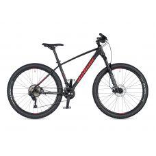 """Велосипед AUTHOR (2020) Traction 27.5"""", рама 19"""", цвет-чёрный (красный) // чёрный"""