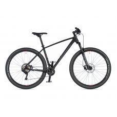 """Велосипед AUTHOR (2020) Traction 29"""", рама 21"""", цвет-чёрный (красный) // чёрный"""