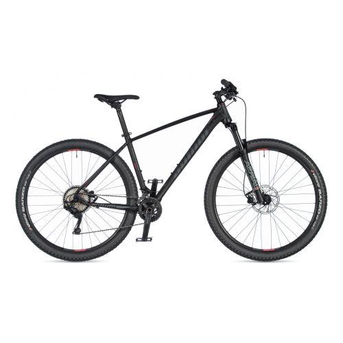 """Велосипед AUTHOR (2020) Traction 29"""", рама 19"""", цвет-чёрный (красный) // чёрный"""